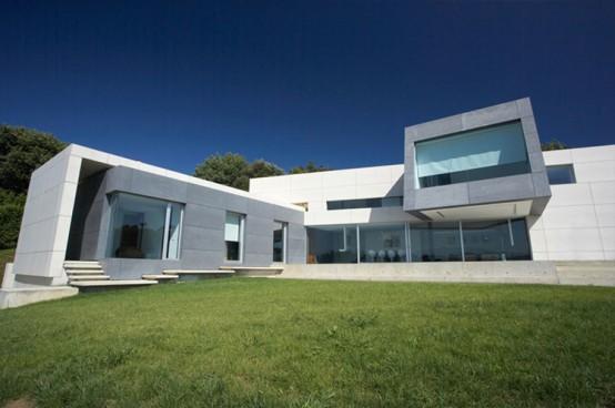 Maison moderne - photo maison moderne - plan maison moderne ...