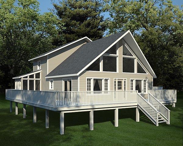 Modèle maison moderne pour plan