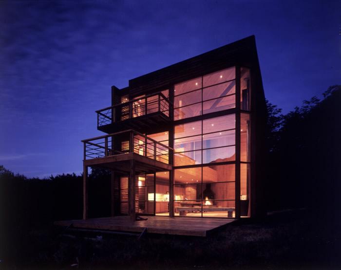 Maison cube moderne